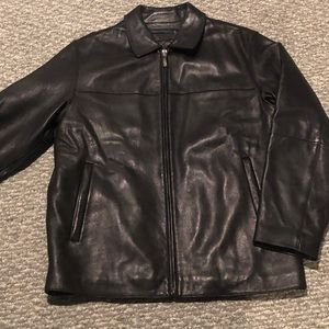 Lamb skin leather jacket great condition